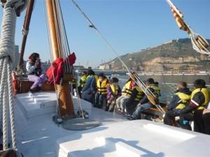 """""""Hem sortit a navegar pel Port de Barcelona"""""""