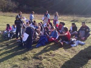 """""""Els nens i nenes de sisè visitem els volcans d'Olot. """""""