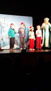 """""""Els nens i nenes de CI vam anar a veure l'obra de teatre """"Rudolph"""""""""""