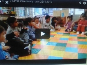 """""""Video de l'adaptació dels menuts del Coves..."""""""