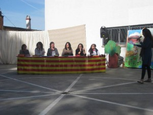 """""""Celebrem Sant Jordi a l'escola."""""""