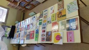 """""""Exposició a la biblioteca de l'escola"""""""
