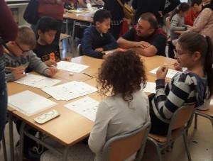"""""""Grups interactius a 4t amb els mestres de l'Erasmus"""""""
